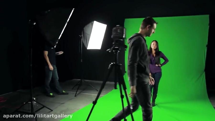 روش استفاده از پرده سبز کروماکی در عکاسی و فیلمبرداری