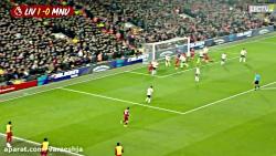 خلاصه بازی لیورپول 2_0 منچستر یونایتد