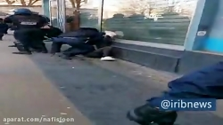 پذیرایی گرم پلیس فرانسه از معترضان
