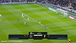خلاصه بازی بارسلونا 1_0 گرانادا