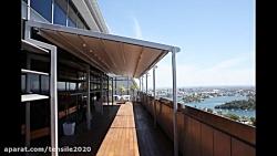 سقف اتوماتیک تالار- سایبان برقی زمین بازی کودکان- پوشش چادری کافه رستوران-