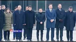 تشییع جان باختگان سقوط هواپیمای اوکراینی در کیف
