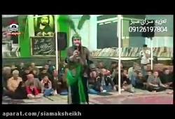 رجزخوانی علی اکبر از کلانتری با نوازندگی صالحی و ربانی کرج۹۷