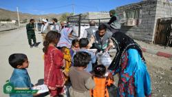 خدمت رسانی آستان قدس رضوی به مناطق سیل زده سیستان و بلوچستان