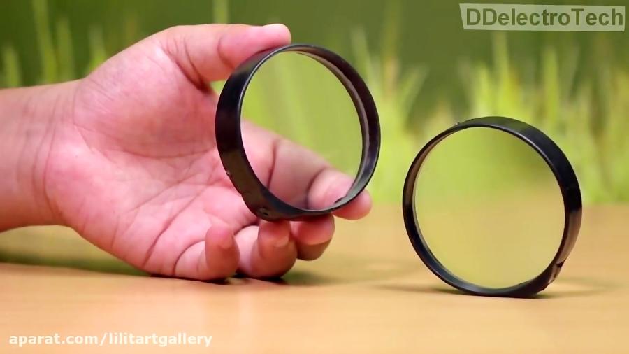 آموزش ساخت لنز ماکرو با استفاده از عدسی ذره بین