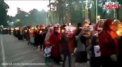تظاهرات حیرت انگیز هواداران سردار سلیمانی در سریلانکا
