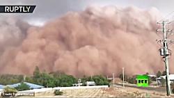 تصاویر ترسناک از طوفان شن در استرالیا | فیلم دوم