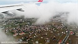 فیلمی از لندینگ هواپیما در فرودگاه جدید استانبول