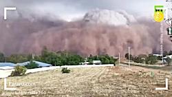 گرد و خاک عجیب و سهمگین در استرالیا