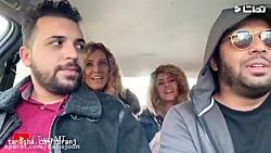 وقتی راننده اسنپ معروف همه کاری می کنه واسه دخترا!!