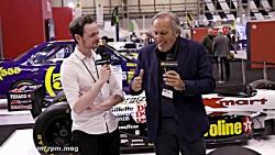 نگاهی به خودروی فرمول یک قدیمی تیم ویلیامز به نام FW14B