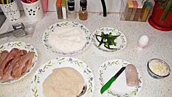 طرز تهیه پیتزای مرغ تابه ای آسون و خوشمزه همراه با خاله سیما