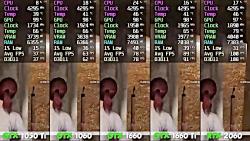 GTX 1050 Ti vs 1060 vs 1660 vs 1660 Ti vs RTX 2060. PUBG