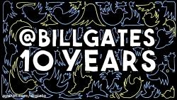 هفت توییت محبوب بیل گیتس در ده سال حضور او در توییتر