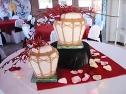 ویدیوی خوشمزه - کیک آرایی - آموزش تزیین کیک زیبا و خوشمزه