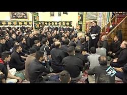 حاج نادر جوادی  ایام  فاطمیه  مسجد قائم  ال محمد تهران  ۹۸