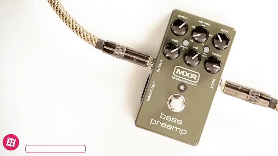 معرفی افکت گیتار الکتریک MXR M81 Bass Preamp