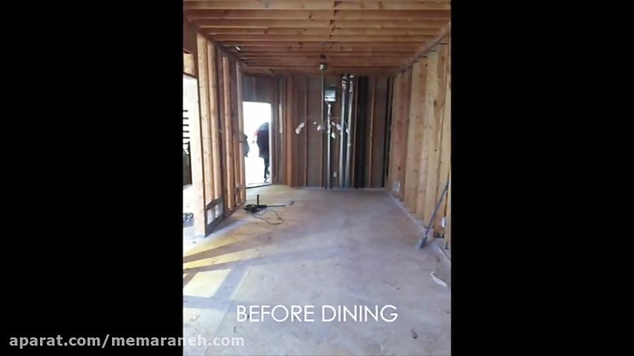 مراحل اجرا و بازسازی یک واحد مسکونی