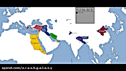 تاریخ جهان بر روی نقشه