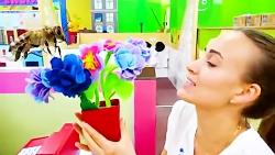ولد در گل فروشی سورپرایز برای مادر بازی کند
