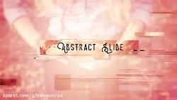 پروژه افتر افکت Abstract Opener