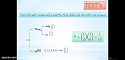 نمونه تدریس ریاضی_نکته و تست احتمال