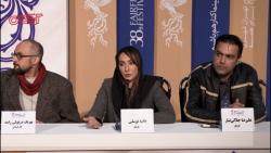 هانیه توسلی در نشست خبری فیلم بیصدا حلزون: نقش سختتر جذابتر است!