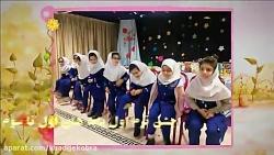 جشن برترین های پایه اول تا سوم امتحانات ترم اول98-مجتمع خدیجه کبری(س)