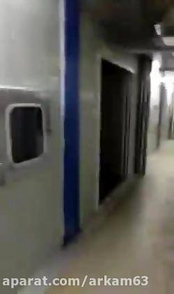 اولین ویدیو از بیمارستان 1000 تخت خوابی که ظرف 10 روز ساخته شد