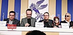 جدال لفظی در نشست خبری فیلم  «درخت گردو» در سی و هشتمین جشنواره فیلم فجر