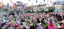 امیر حسین نوشالی، شادی دختران مدرسه با آهنگ تو ایرانی