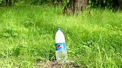 10 آزمایش جالب با بطری پلاستیکی