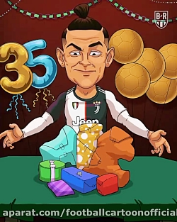رونالدو یکی از بزرگترین استعدادهای فوتبال امروز روز تولد خود را جشن می گیرد.