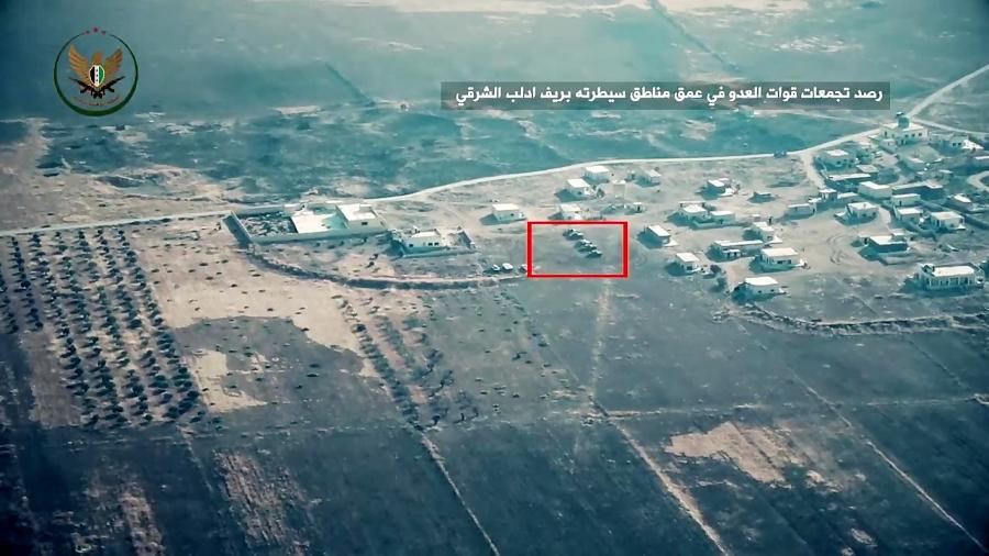 حمله توپخانه ای تروریست ها به ارتش سوریه در شرق ادلب