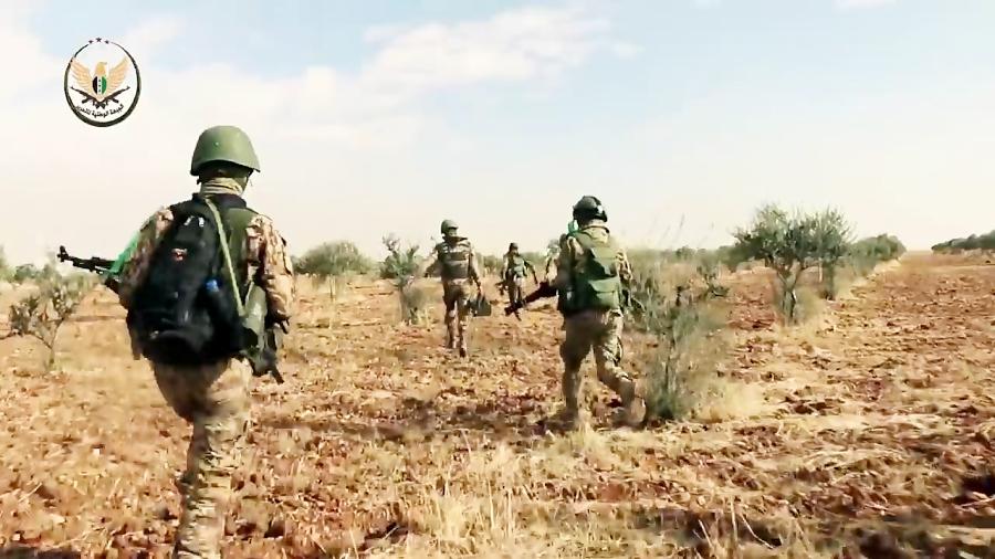 حمله تروریست های تا بن دندان مسلح به ارتش سوریه در شرق ادلب