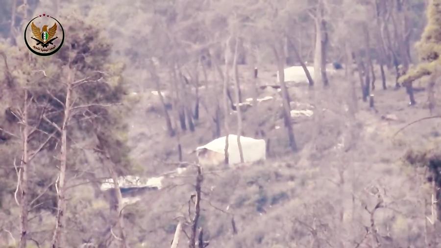 شهادت نیروهای ارتش سوریه با موشک ضد زره تکفیری ها