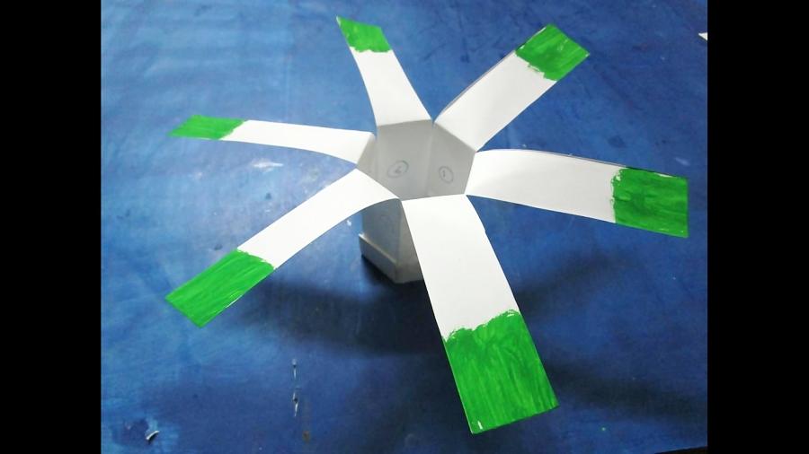 ساخت کاردستی هلیکوپتر با کاغذ