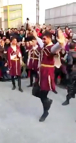 رقص زیبای ترکی