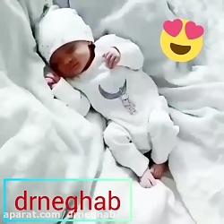 لحظه تولد نوزاد