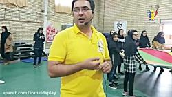 کلیپ هیجانی کارگاه و مینی المپیک قزوین با بیش از ۶۰۰ کودک