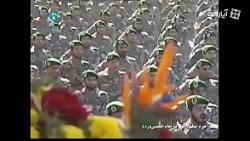 رژه تکاوران نیروی دریایی سپاه