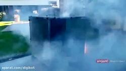 تست مقاومت آیفون 11 پرو در برابر انفجار ترقه