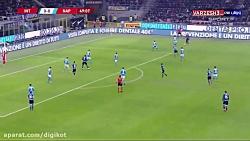 خلاصه بازی اینتر 0 - 1 ناپولی (کوپا ایتالیا)