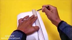 3 ترفند و کاردستی جالب با ظروف پلاستیکی