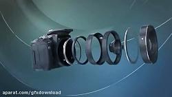 پروژه افتر افکت نمایش لوگو دوربین عکاسی