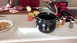 آموزش آشپزی دیزی سنگی