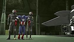 انیمیشن سینمایی (مرد آهنی و کاپیتان آمریکا) دوبله فارسی