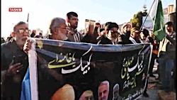 زائران پاکستانی در گلزار شهدای کرمان