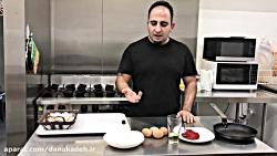آموزش آشپزی املت خیلی خ...