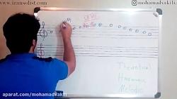 جلسه ی سی وچهارم تئوری موسیقی